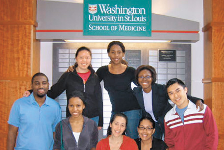The Alumni Association makes funds available to student groups at the Medical School